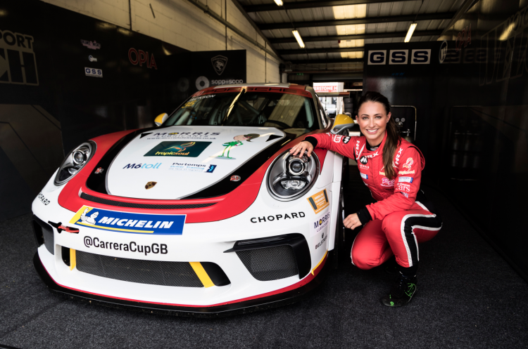 british female racing drivers
