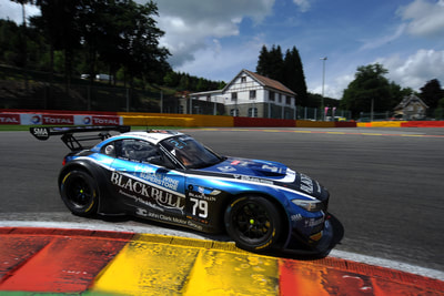 Ecurie Ecosse - BMW Z4 GT3 racing at Spa